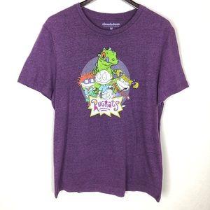 Nickelodeon Rugrats Graphic Tee Purple Reptar